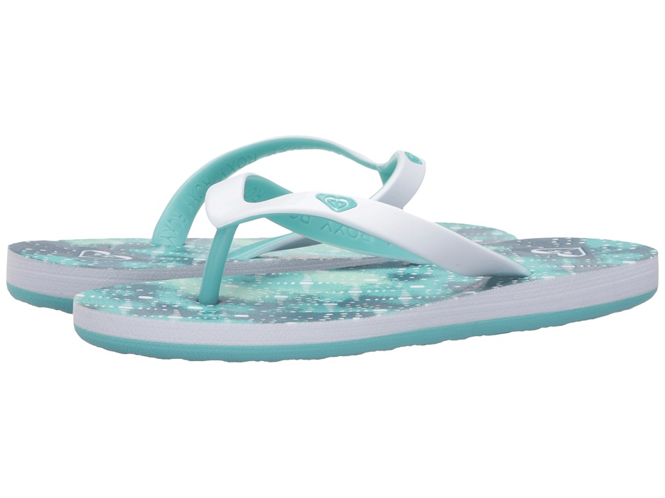 Roxy Kids - Tahiti V (Little Kid/Big Kid) (Teal) Girls Shoes