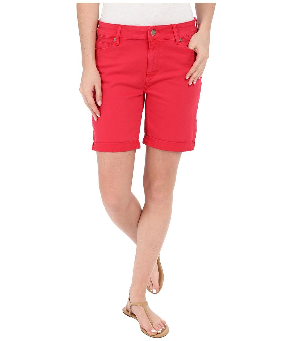 Liverpool - Corine Colored Denim Shorts in Tomato Puree Red (Tomato Puree Red) Women's Shorts