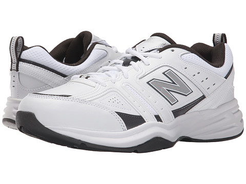 New Balance - MX401V2W (White/Grey) Men's Cross Training Shoes