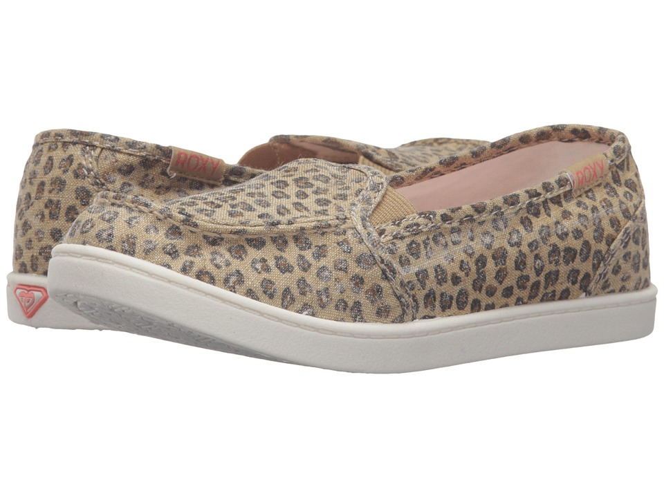 Roxy Kids - Lido III (Little Kid/Big Kid) (Cheetah Print) Girl's Shoes