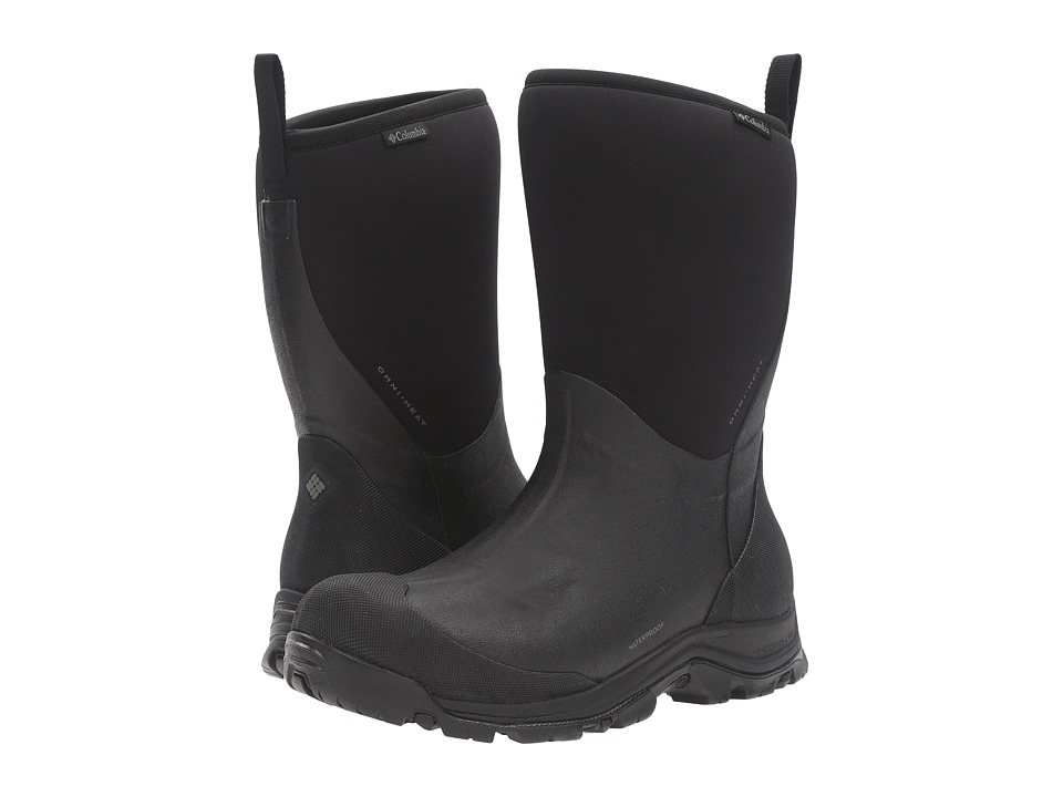 Columbia - Bugaboot Neo Mid Omni-Heat (Black/Charcoal) Men's Shoes
