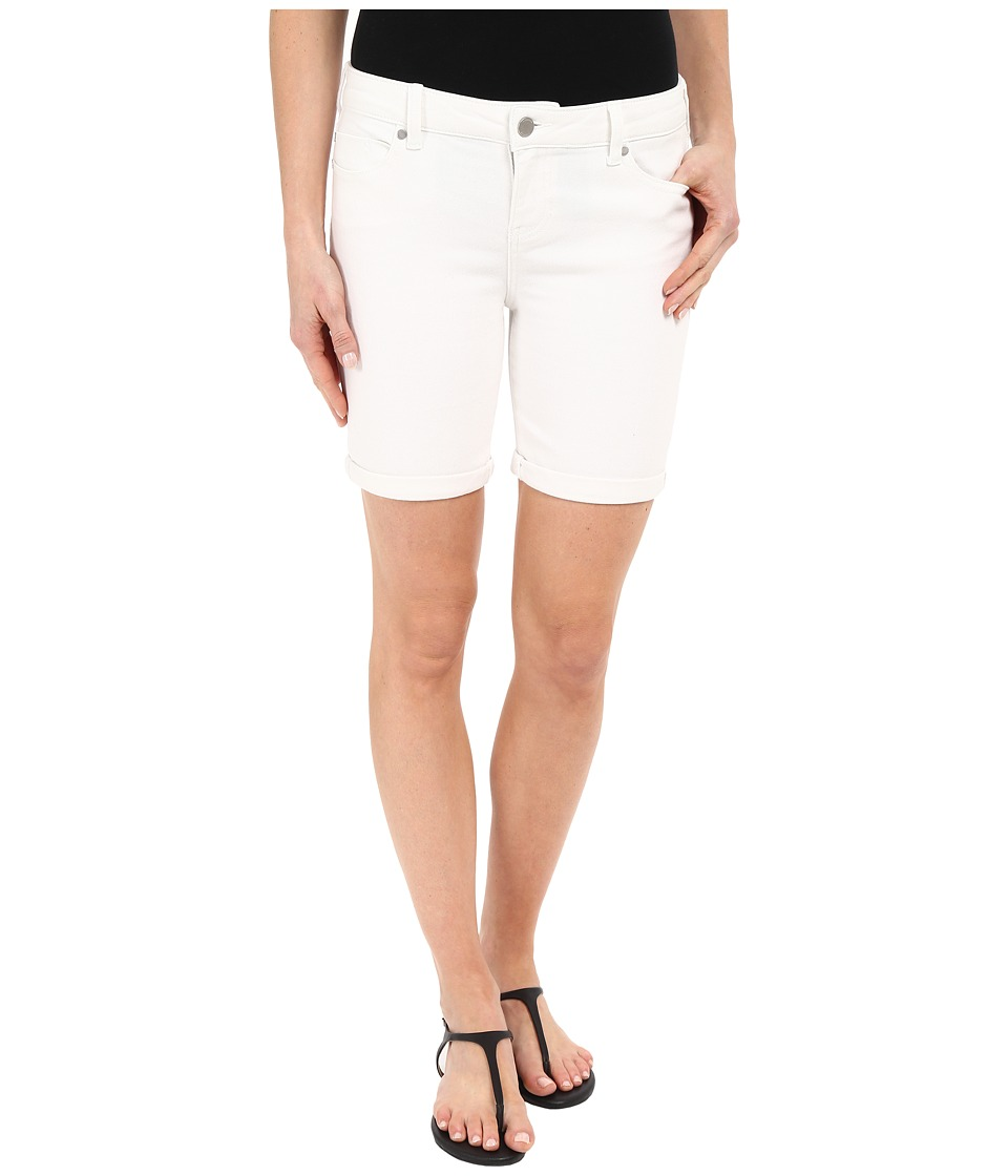 Liverpool - Corine Lightweight Denim Shorts in Bright White (Bright White) Women's Shorts