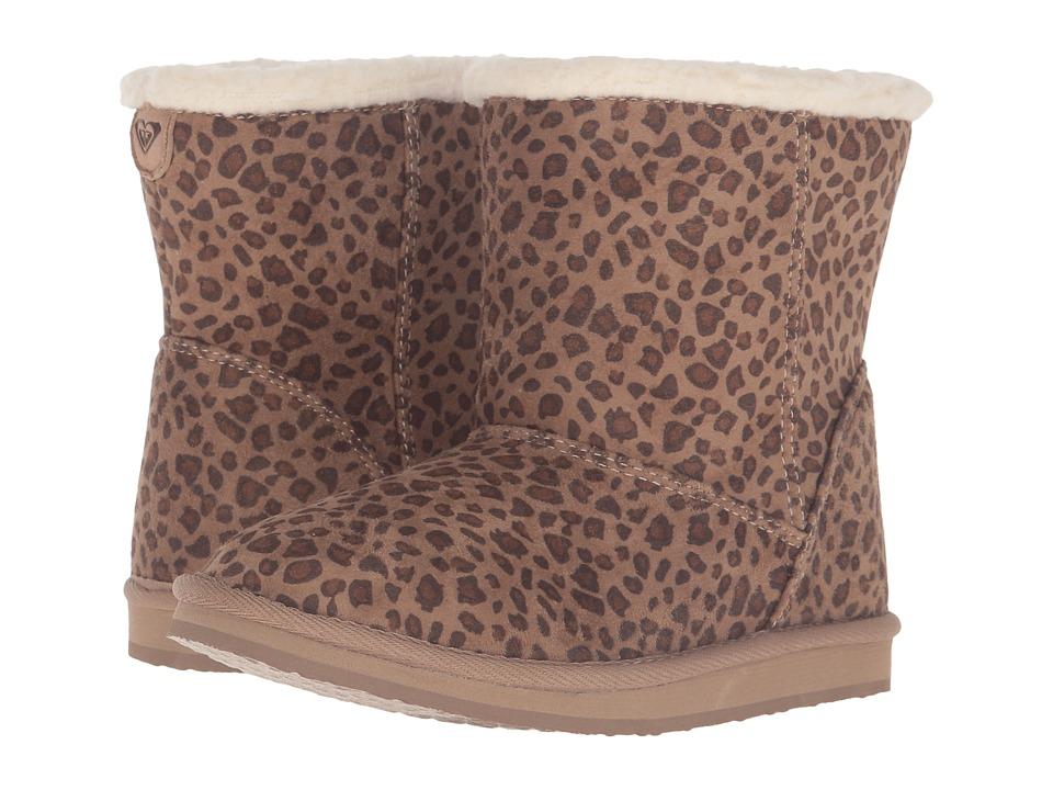 Roxy Kids - Molly (Little Kid/Big Kid) (Cheetah Print) Girls Shoes