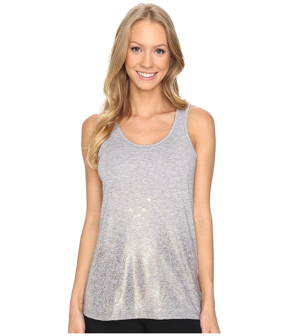 Brooks - Distance Tank Top (Heather Oxford/Sol Shine) Women's Sleeveless