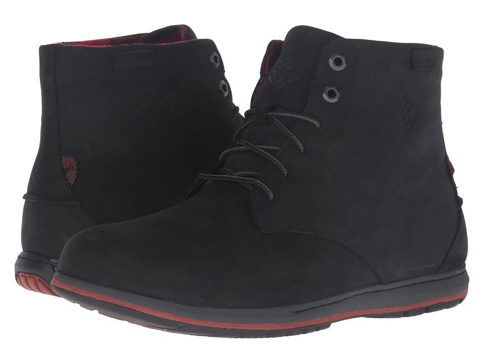 Columbia Davenport Six Waterproof (Black) Men