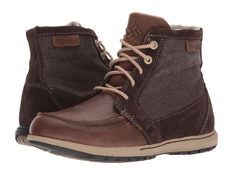Columbia - Davenport PDX Waterproof (Hawk/Oxford Tan) Men's Waterproof Boots