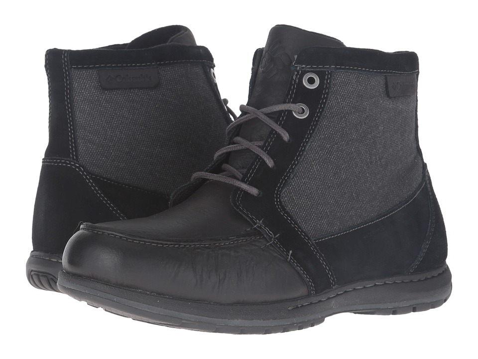 Columbia Davenport PDX Waterproof (Black/Dark Fog) Men
