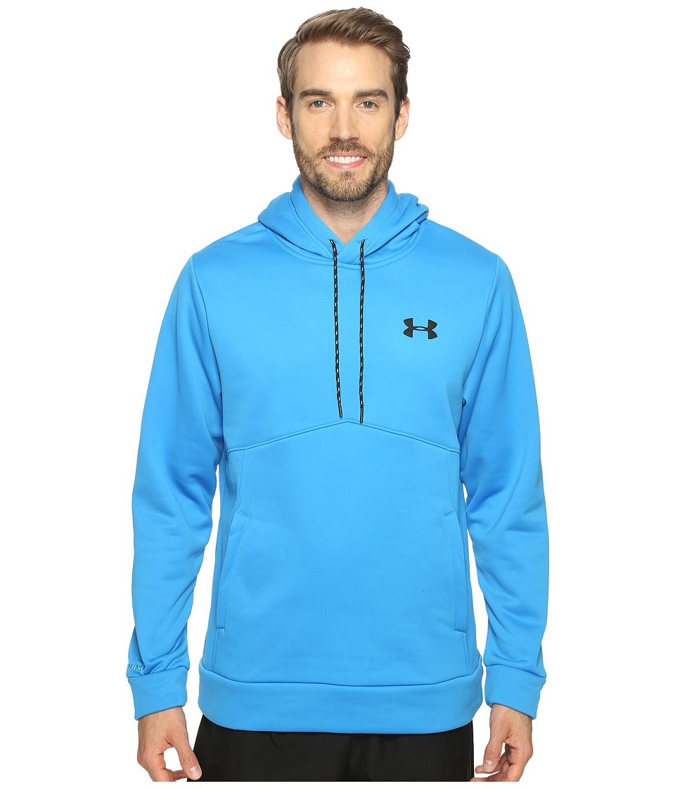Under Armour - Storm Armour Fleece Icon Hoodie (Brilliant Blue/Steel/Black) Men's Sweatshirt