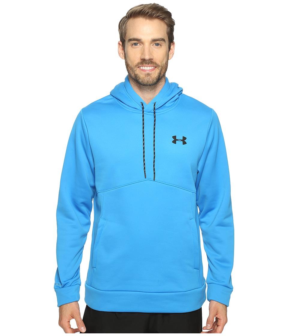Under Armour - Storm Armour Fleece Icon Hoodie (Brilliant Blue/Steel/Black) Men's Sweatshirt