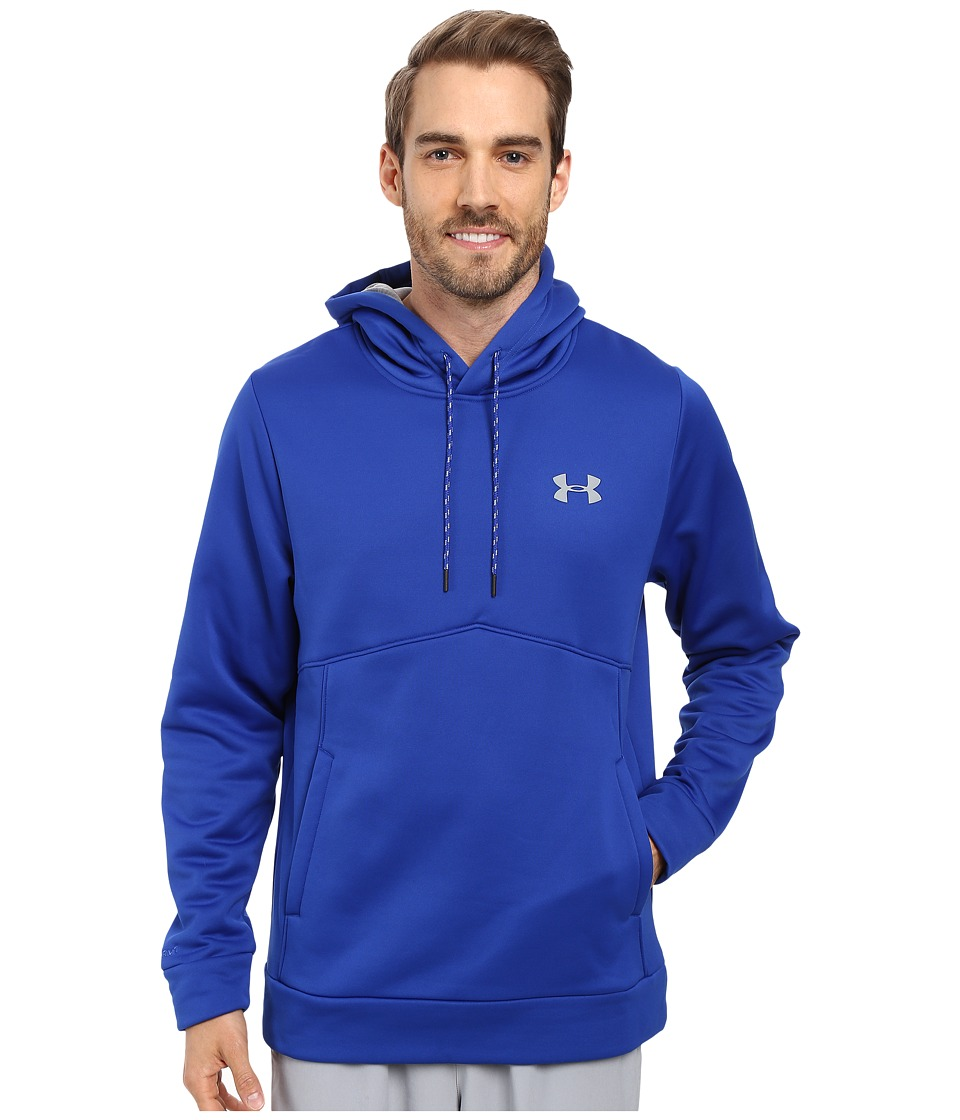 Under Armour - Storm Armour Fleece Icon Hoodie (Royal/Midnight Navy/Steel) Men's Sweatshirt