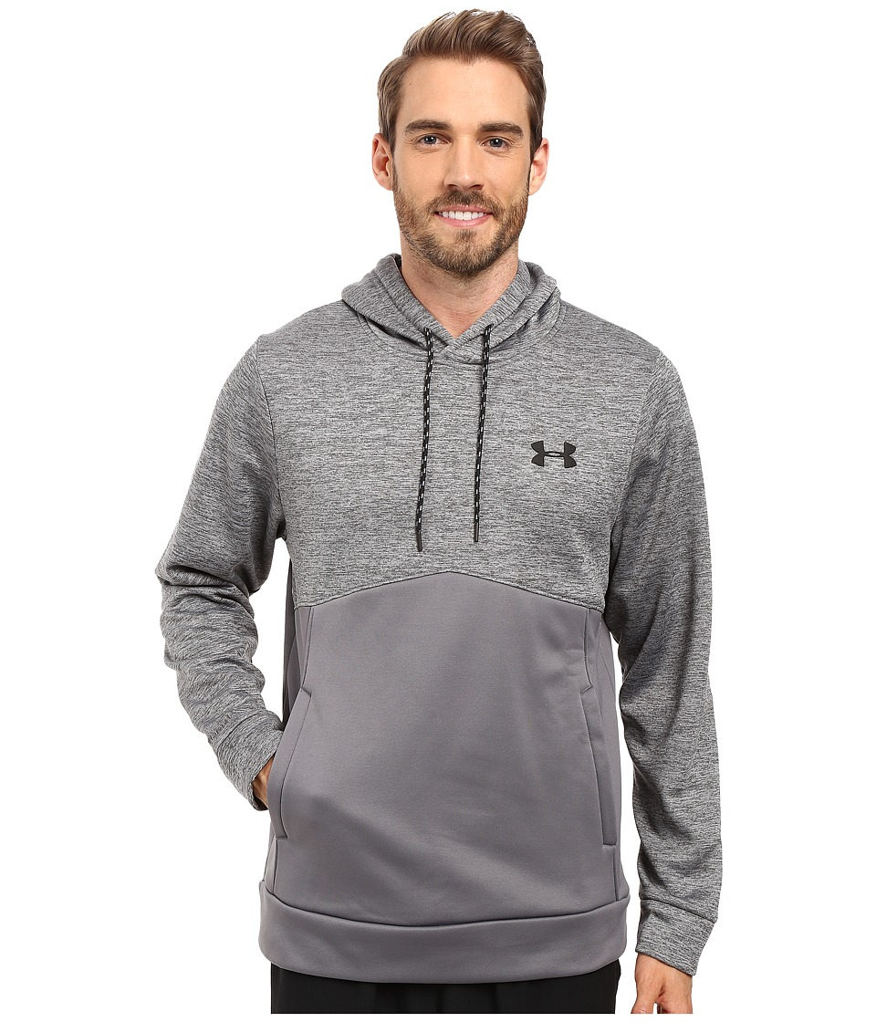 Under Armour - Storm Armour Fleece Icon Twist Hoodie (Graphite/Black/Black) Men's Sweatshirt