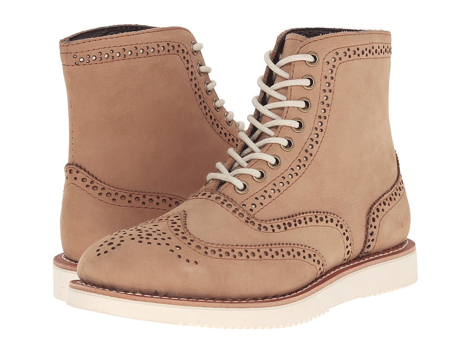 PRIVATE STOCK - Arras Brogue Boot (Camel) Men's Boots