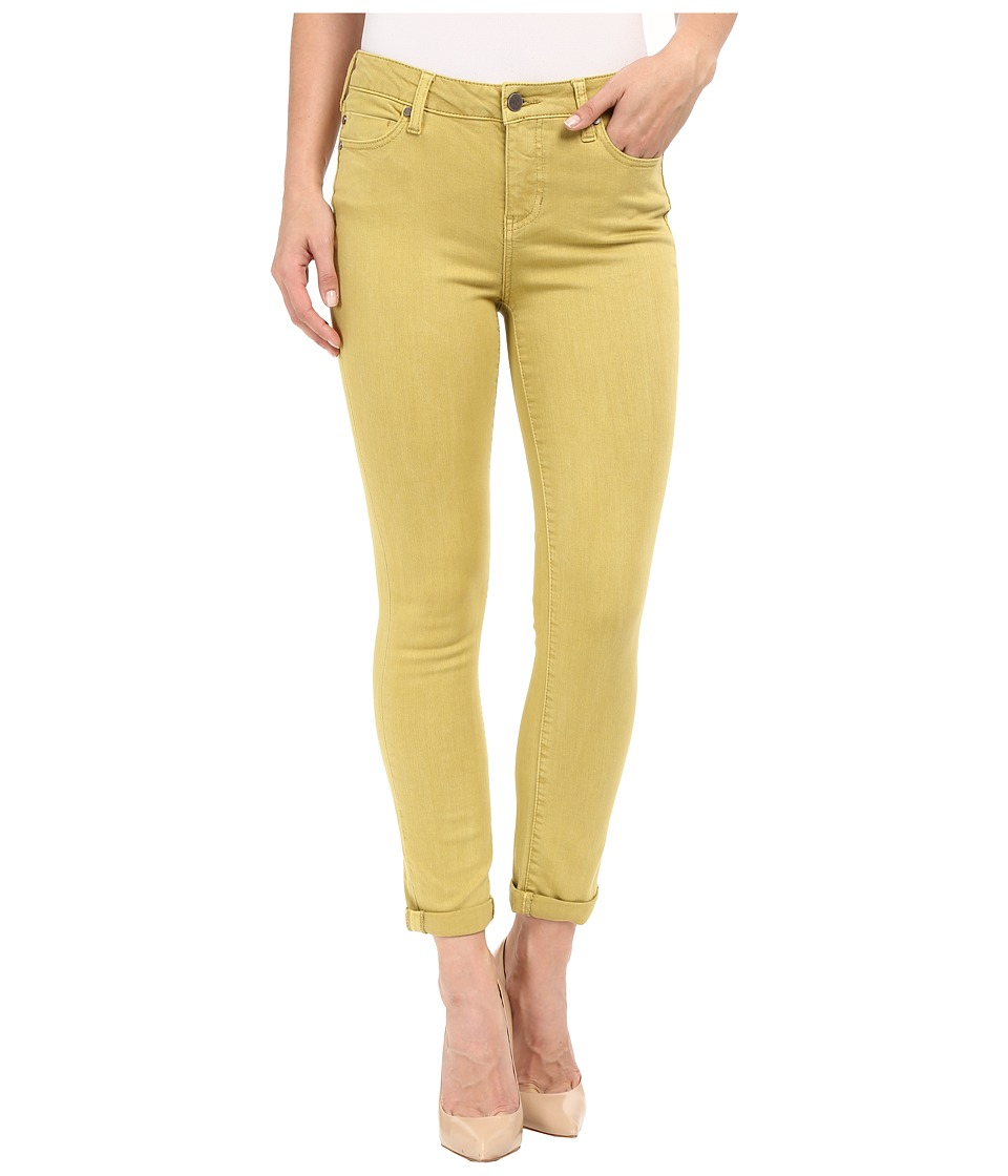 Liverpool - Cami Crop Slub Stretch Twill (Burnished Gold) Women's Casual Pants
