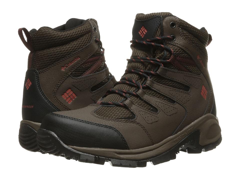Columbia - Gunnison (Cordovan/Sanguine) Men's Shoes