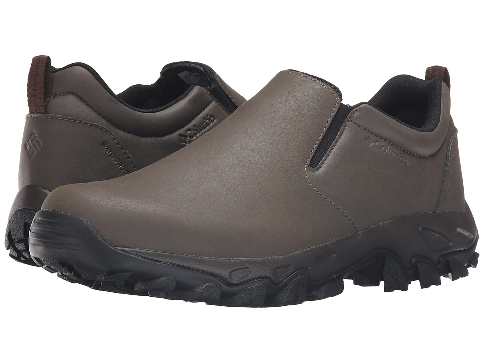 Columbia Newton Ridge Plus Moc Waterproof (Mud/Red Dahlia) Men