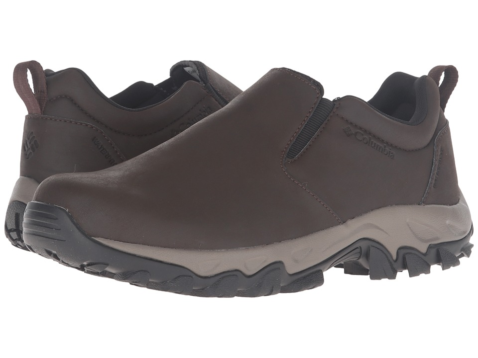 Columbia Newton Ridge Plus Moc Waterproof (Cordovan/Squash) Men