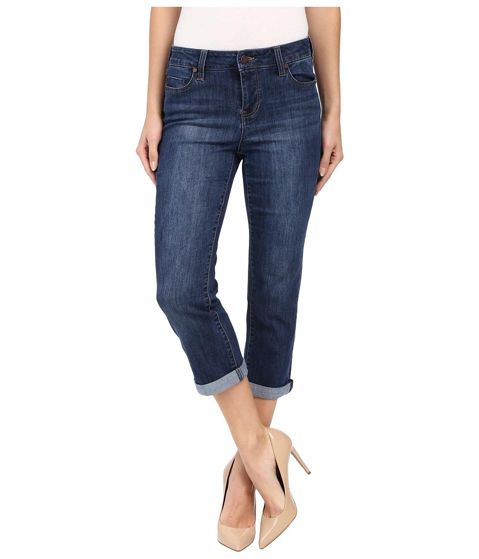 Liverpool - Michelle Capris in Montauk Mid Blue (Montauk Mid Blue) Women's Jeans