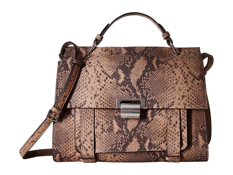 Ivanka Trump - Turnberry Satchel (Pale Taupe) Satchel Handbags