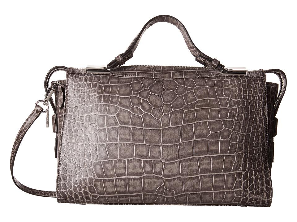 Ivanka Trump - Bedminster Satchel (Charcoal) Satchel Handbags