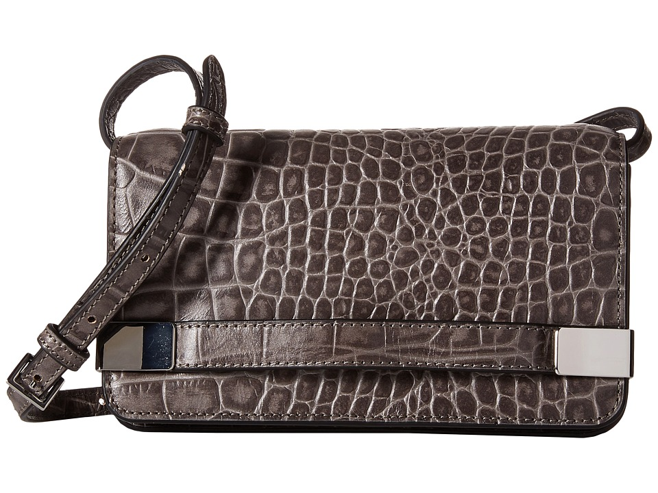 Ivanka Trump - Bedminster Mini Crossbody (Charcoal) Cross Body Handbags