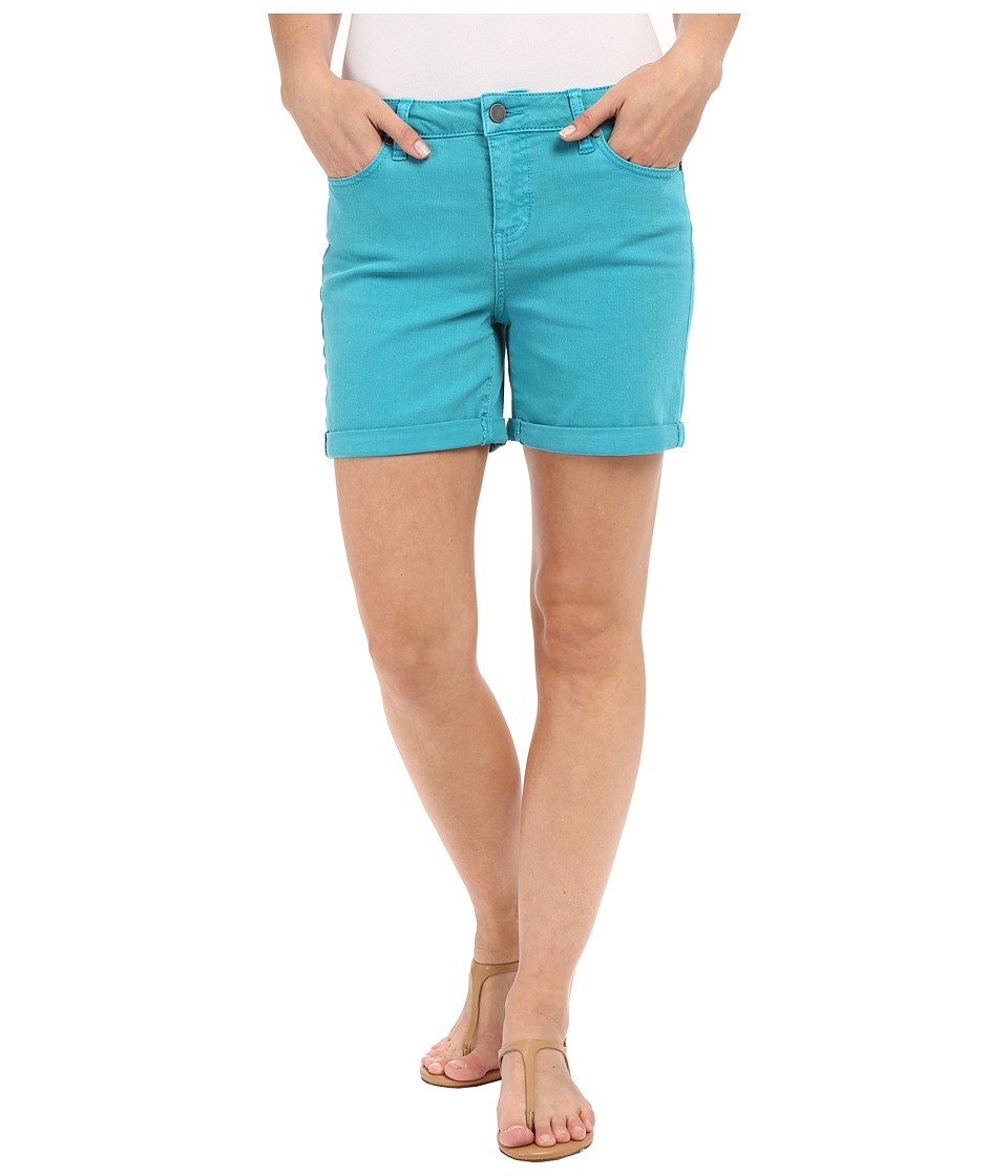 Liverpool - Vickie Shorts (Lake Blue) Women's Shorts