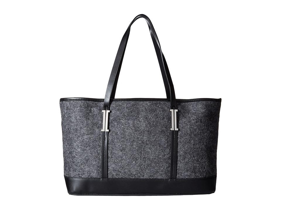 Ivanka Trump - Hudson Double Shoulder (Charcoal) Shoulder Handbags