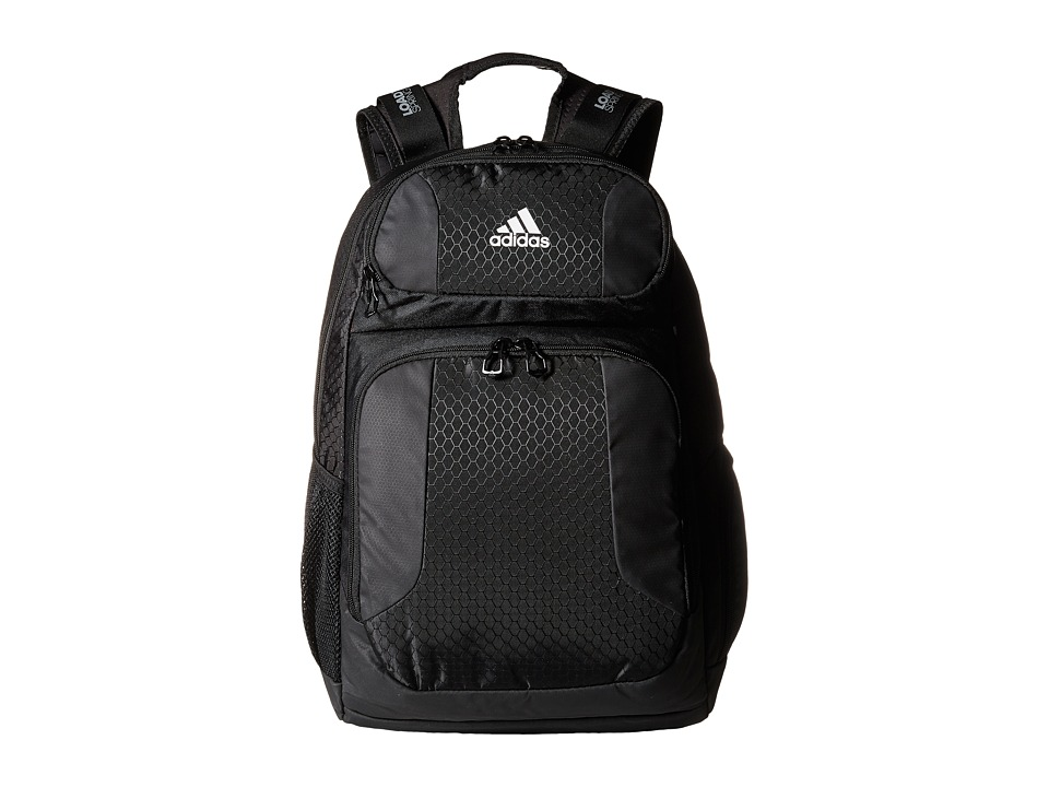 adidas Strength Backpack (Black/Neo White) Backpack Bags