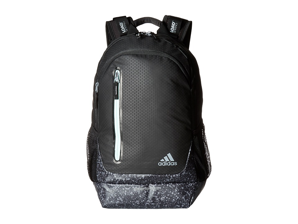 adidas - Breakaway Backpack (Black/Splatter/Ice Green) Backpack Bags