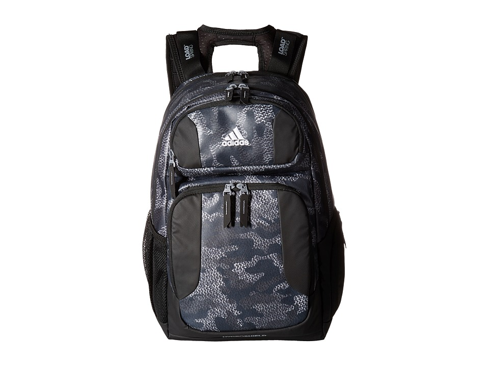 adidas - Strength Plus Backpack (Prime Camo Grey/Black/Neo White) Backpack Bags