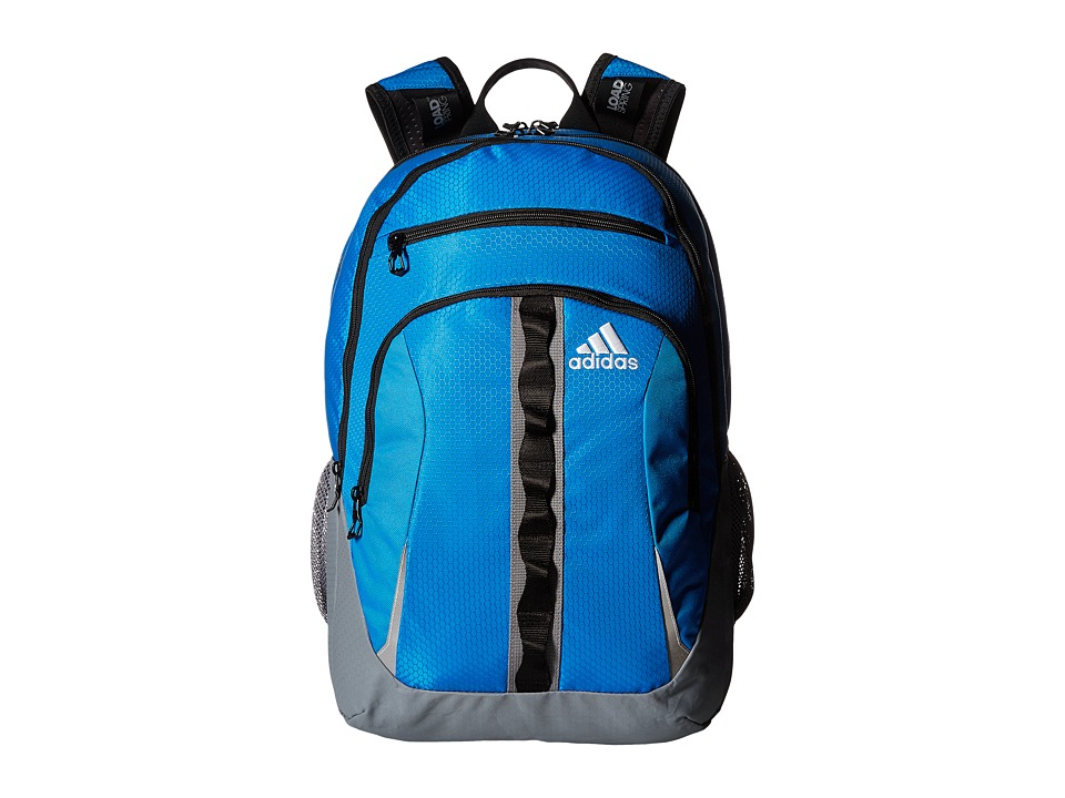 adidas - Prime II Backpack (Bright Blue/Grey/Black) Backpack Bags