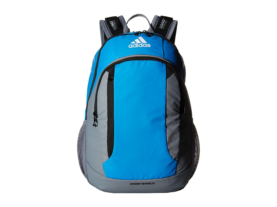 adidas - Mission Backpack (Bright Blue/Grey/Black) Backpack Bags