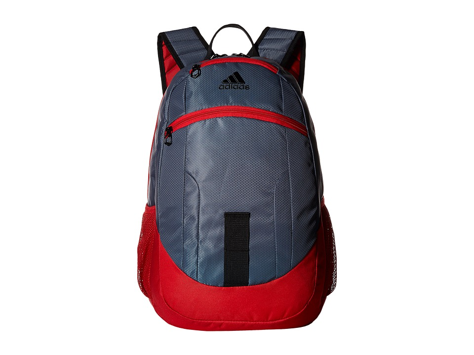 adidas - Foundation II Backpack (Deepest Space/Scarlet/Black) Backpack Bags