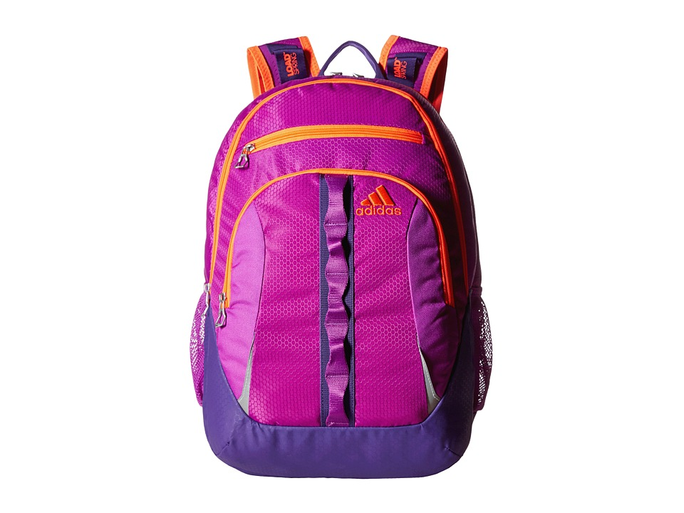adidas - Prime II Backpack (Shock Purple/Unity Purple/Solar Red) Backpack Bags