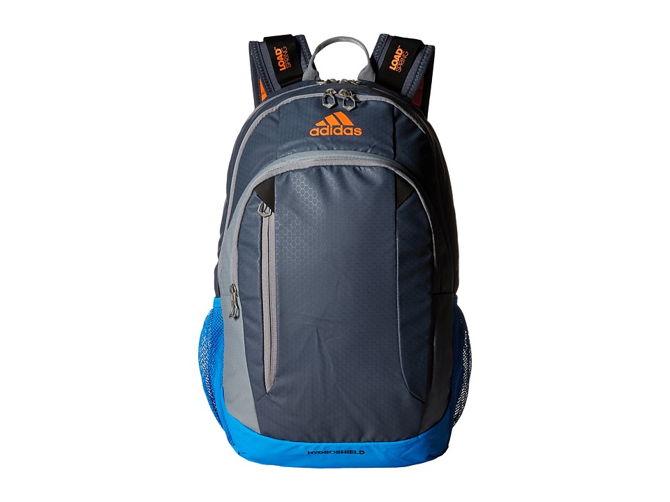 adidas - Mission Backpack (Deepest Space/Grey/Bright Blue/Solar Orange/Black) Backpack Bags