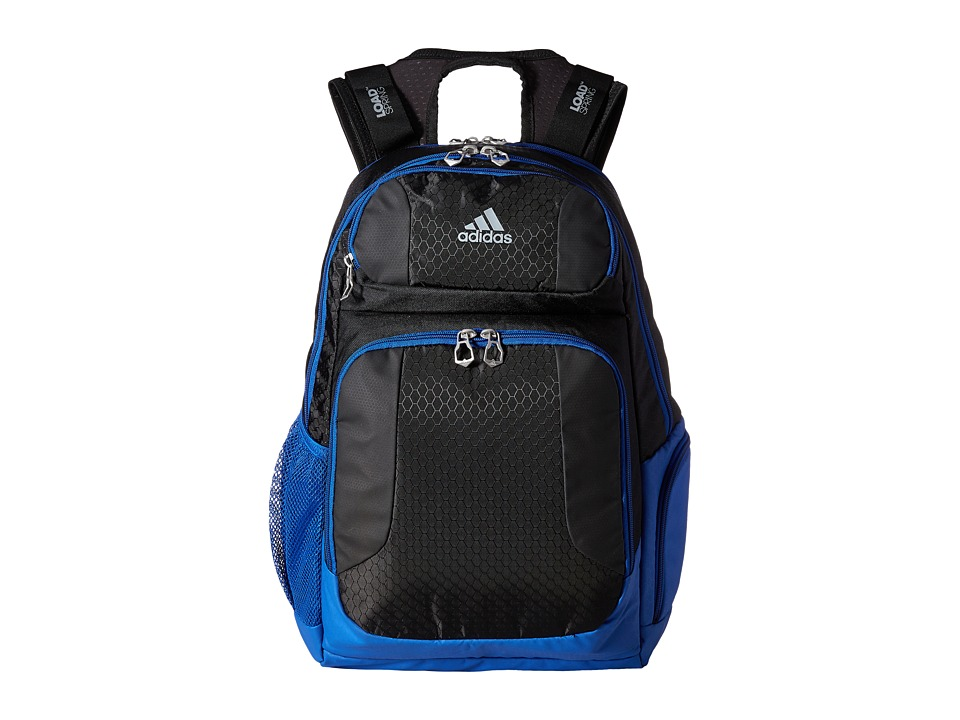 adidas - Strength Backpack (Black/Bold Blue) Backpack Bags