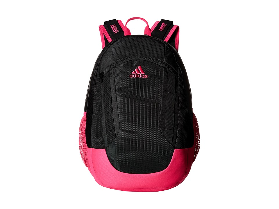 adidas - Excel II Backpack (Black/Shock Pink/Neo White) Backpack Bags