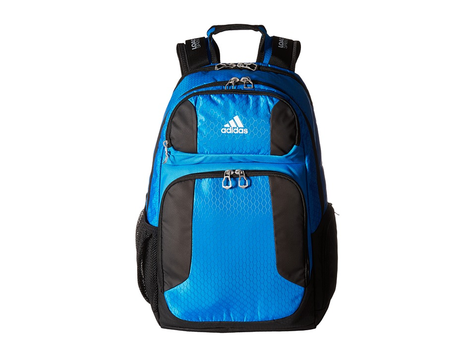 adidas - Strength Backpack (Bright Blue/Black/Grey/Neo White) Backpack Bags