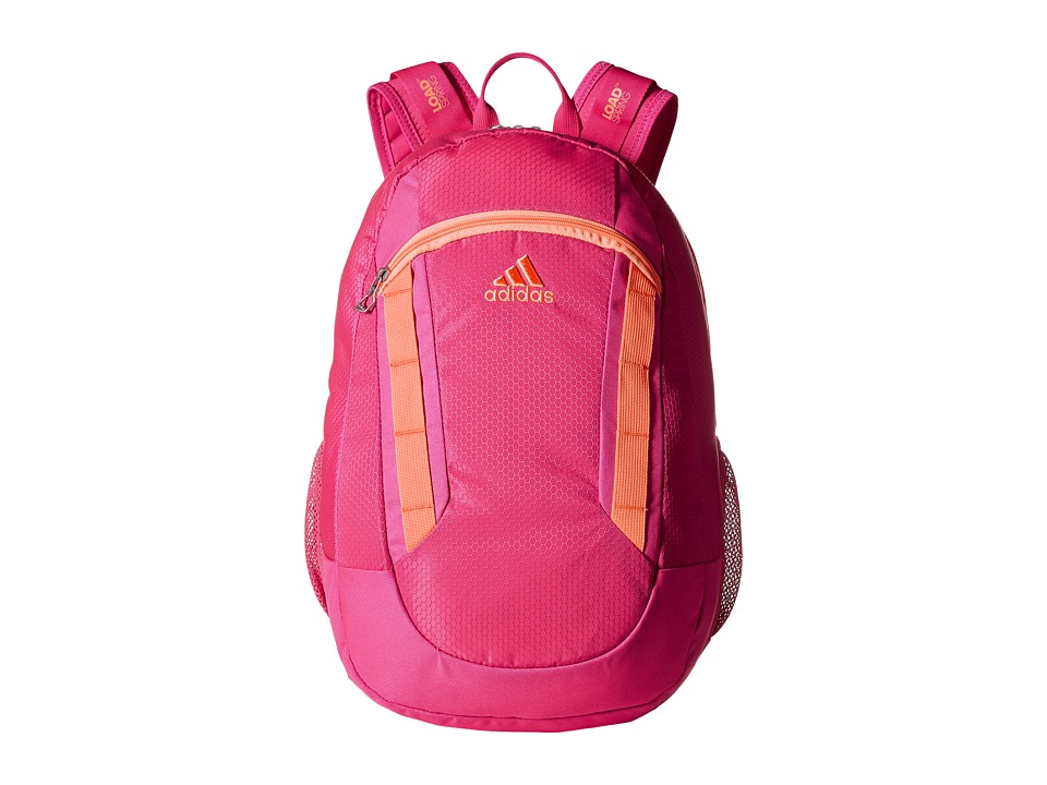 adidas - Excel II Backpack (Shock Pink/Flash Orange) Backpack Bags