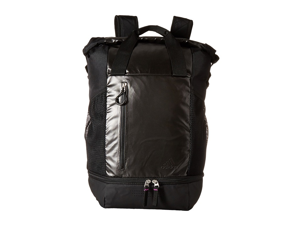 adidas - Athletic Backpack (Black Metallic/Black) Backpack Bags