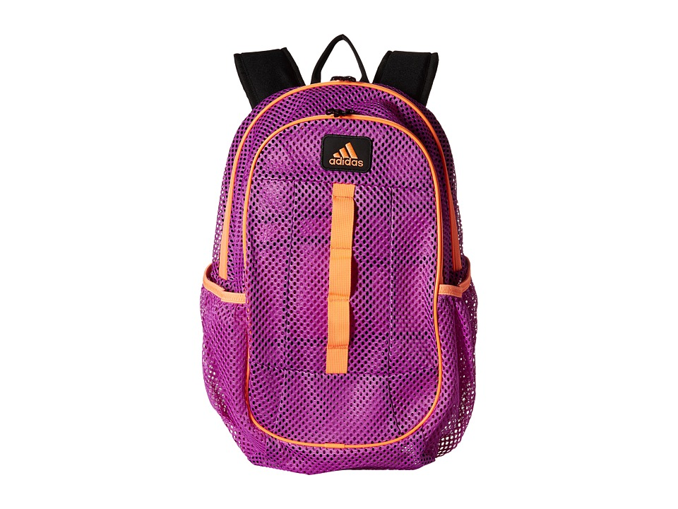 adidas - Hermosa Mesh Backpack (Flash Pink/Flash Orange) Backpack Bags