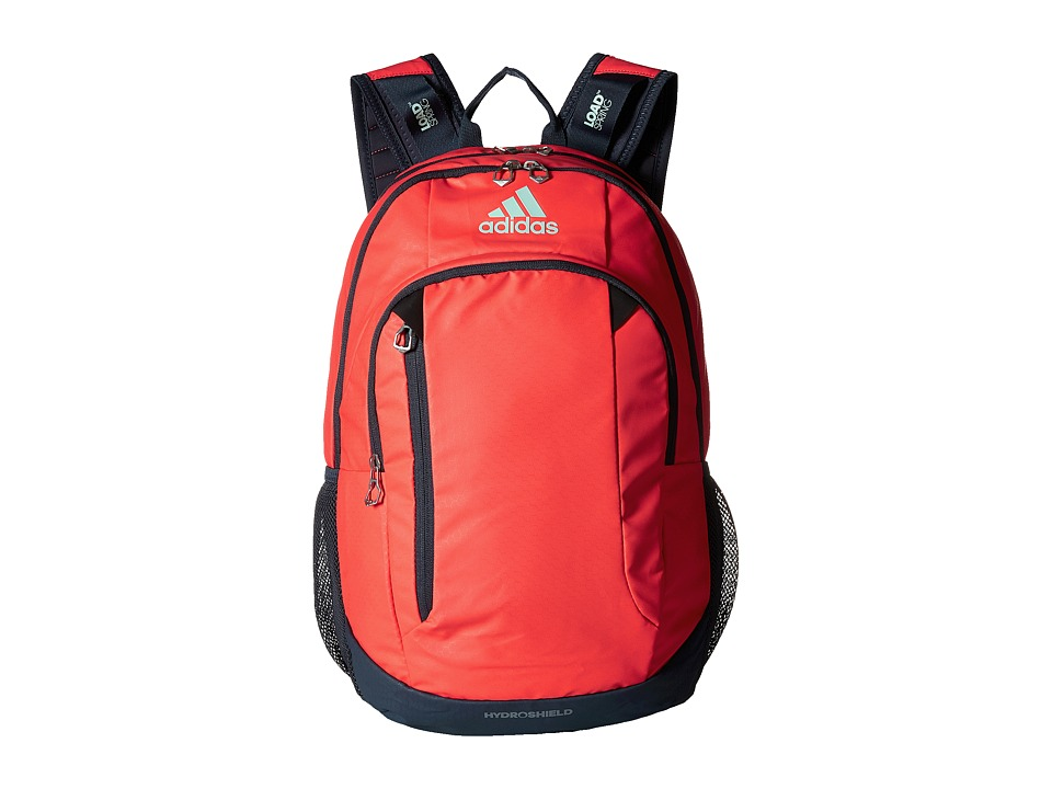 adidas - Mission Backpack (Shock Red/Deepest Space/Ice Green) Backpack Bags