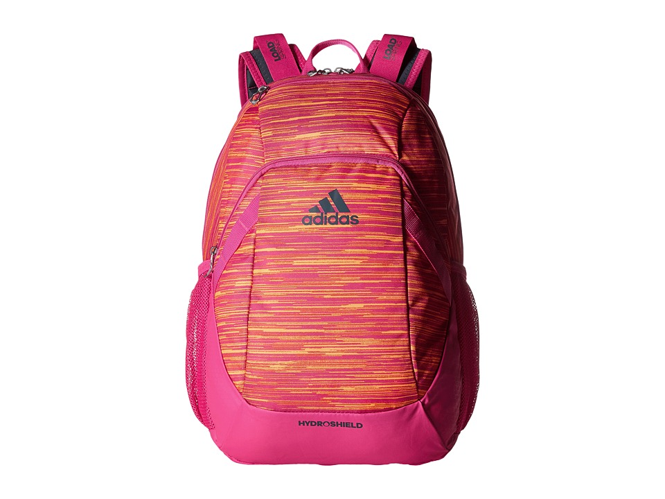 adidas - Pace Backpack (Space Dye Shock Pink/Shock Pink/Deepest Space) Backpack Bags