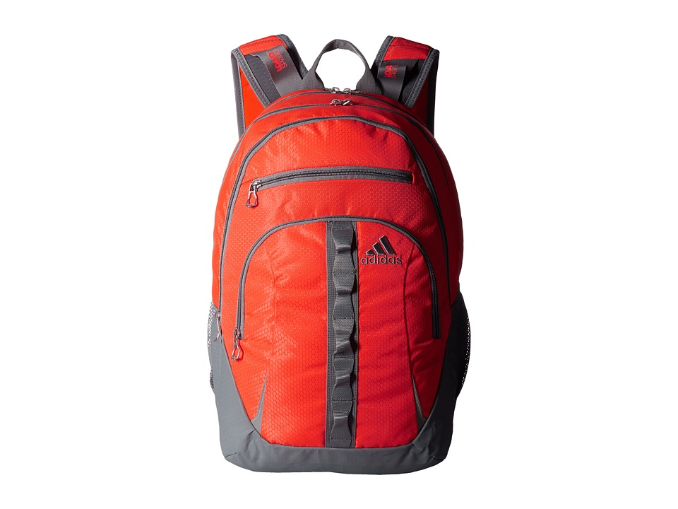 adidas - Prime II Backpack (Solar Red/Solar Orange/Grey) Backpack Bags