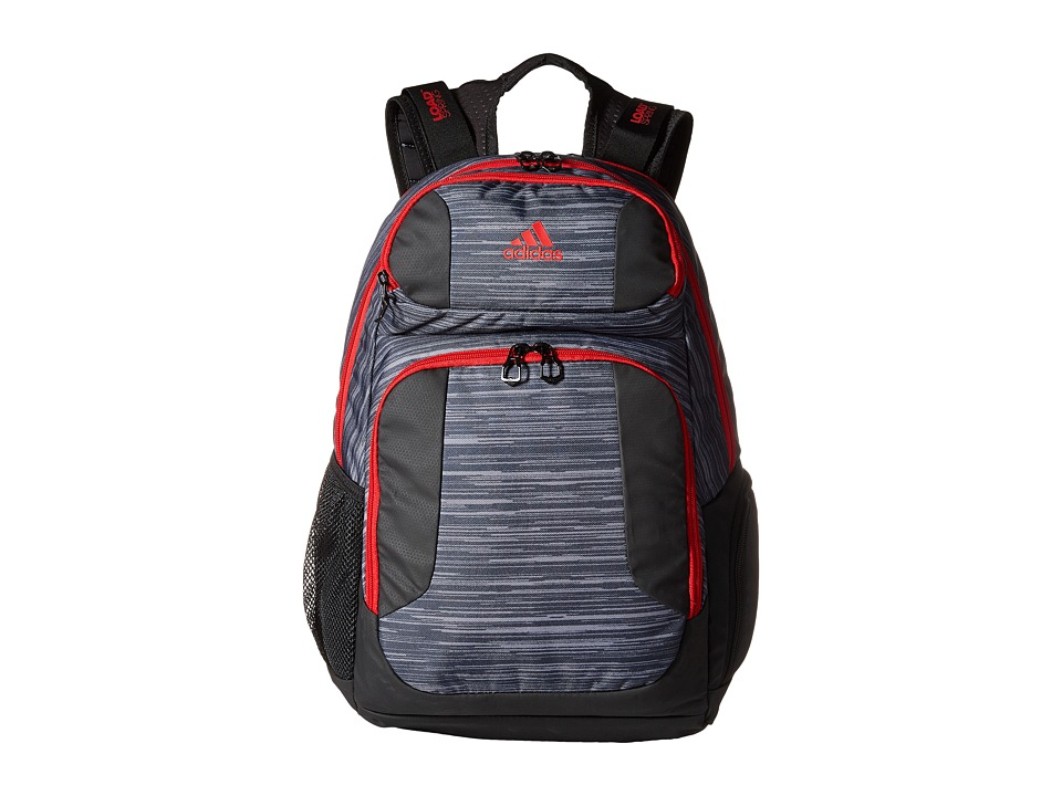adidas - Strength Backpack (Space Dye Deepest Space/Scarlet/Black) Backpack Bags