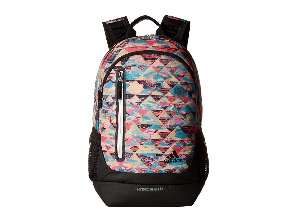 adidas - Breakaway Backpack (Marbled/Black/Neo White) Backpack Bags