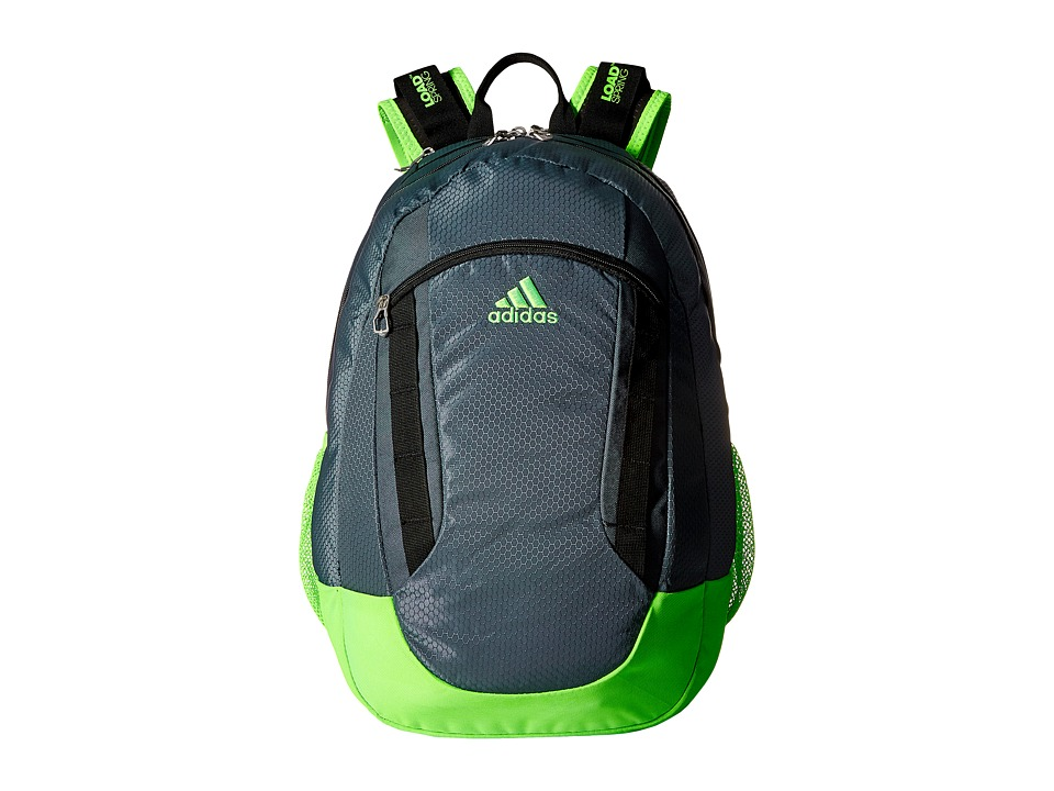 adidas - Excel II Backpack (Deepest Space/Solar Green/Black) Backpack Bags
