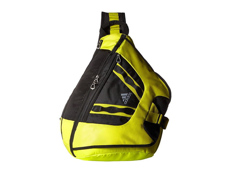 adidas - Capital II Sling (Shock Slime/Black/Grey) Backpack Bags