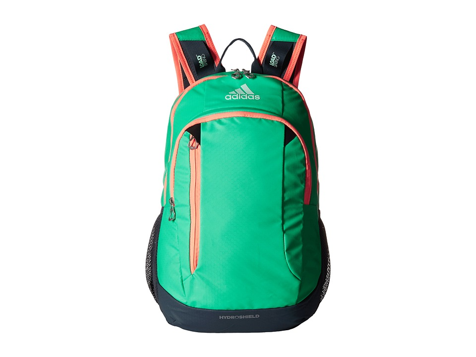 adidas - Mission Backpack (Bright Green/Deepest Space/Flash Orange) Backpack Bags