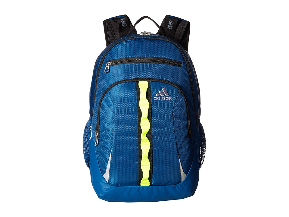 adidas - Prime II Backpack (Tech Steel/Solar Yellow/Black) Backpack Bags
