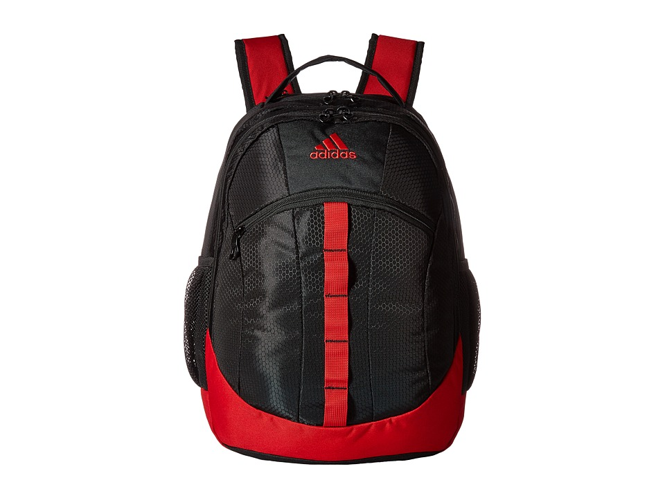 adidas - Stratton Backpack (Grey/Scarlet) Backpack Bags